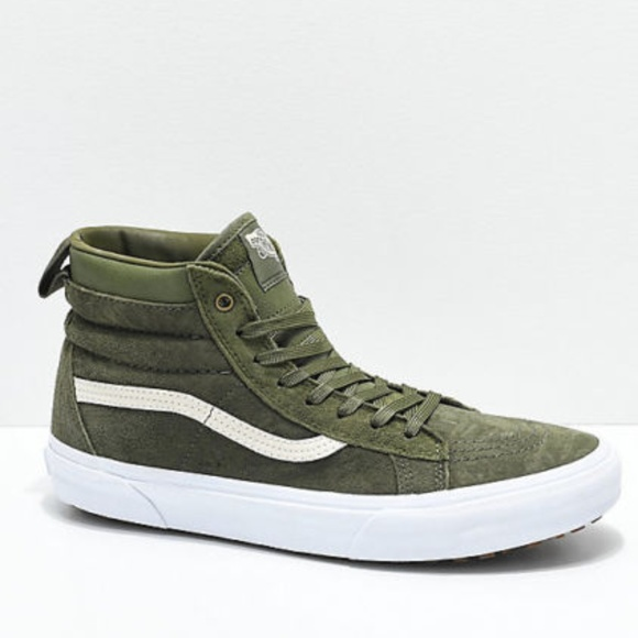 3760f6b293 New Vans Sk8 Hi MTE Moss   Military Green Sneaker.  M 5b5b4e633e0caab12167bbd1. Other Shoes ...